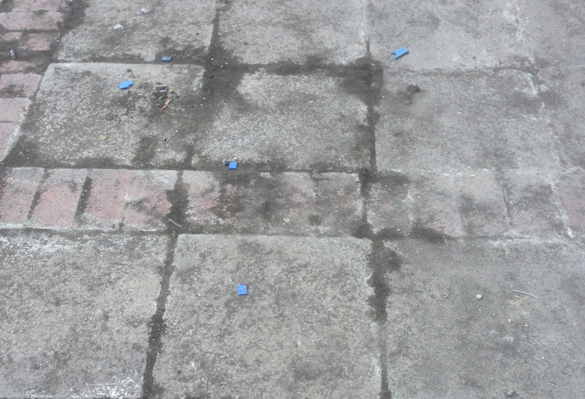 paving jet washing