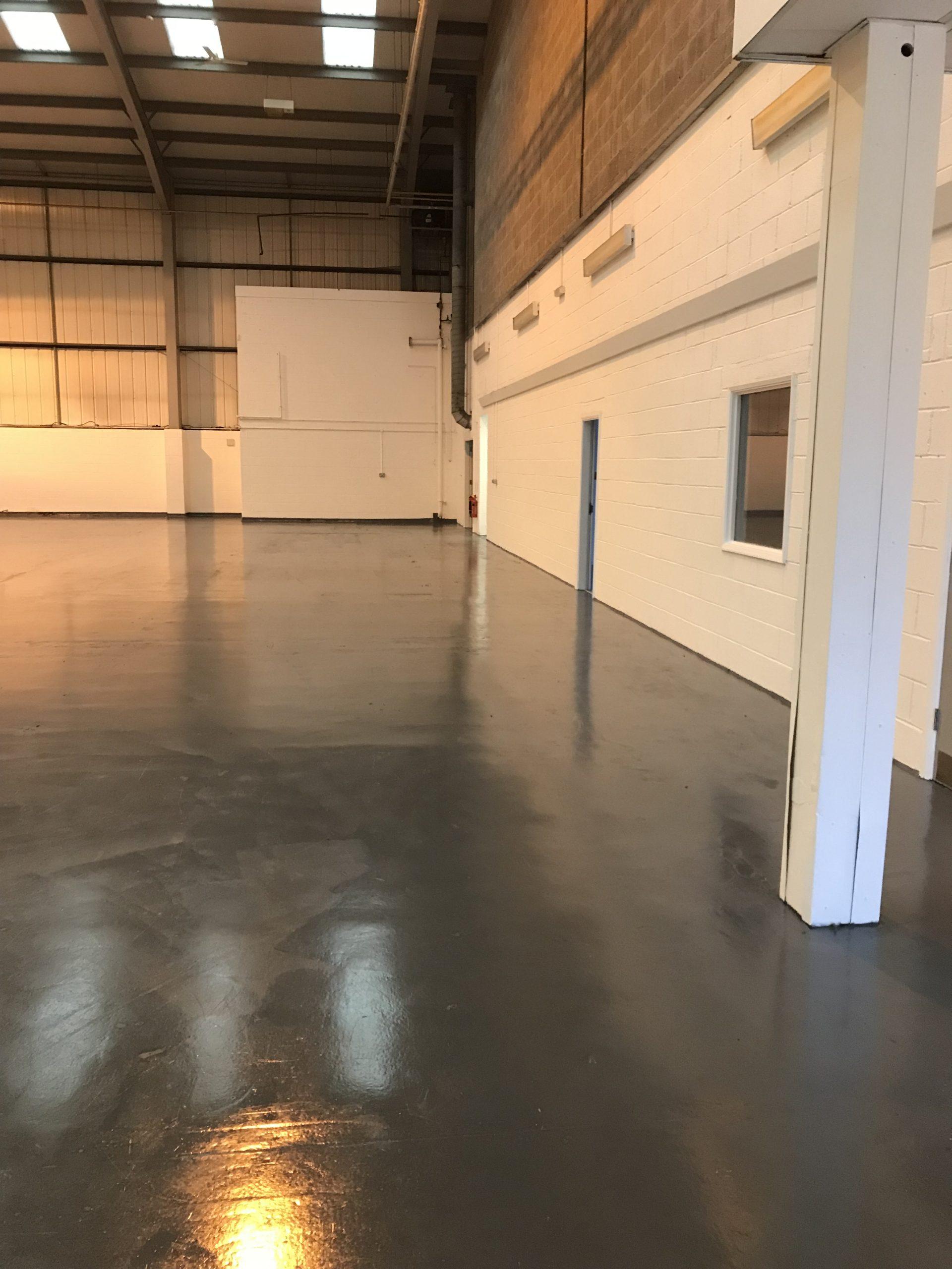 factory floor clean