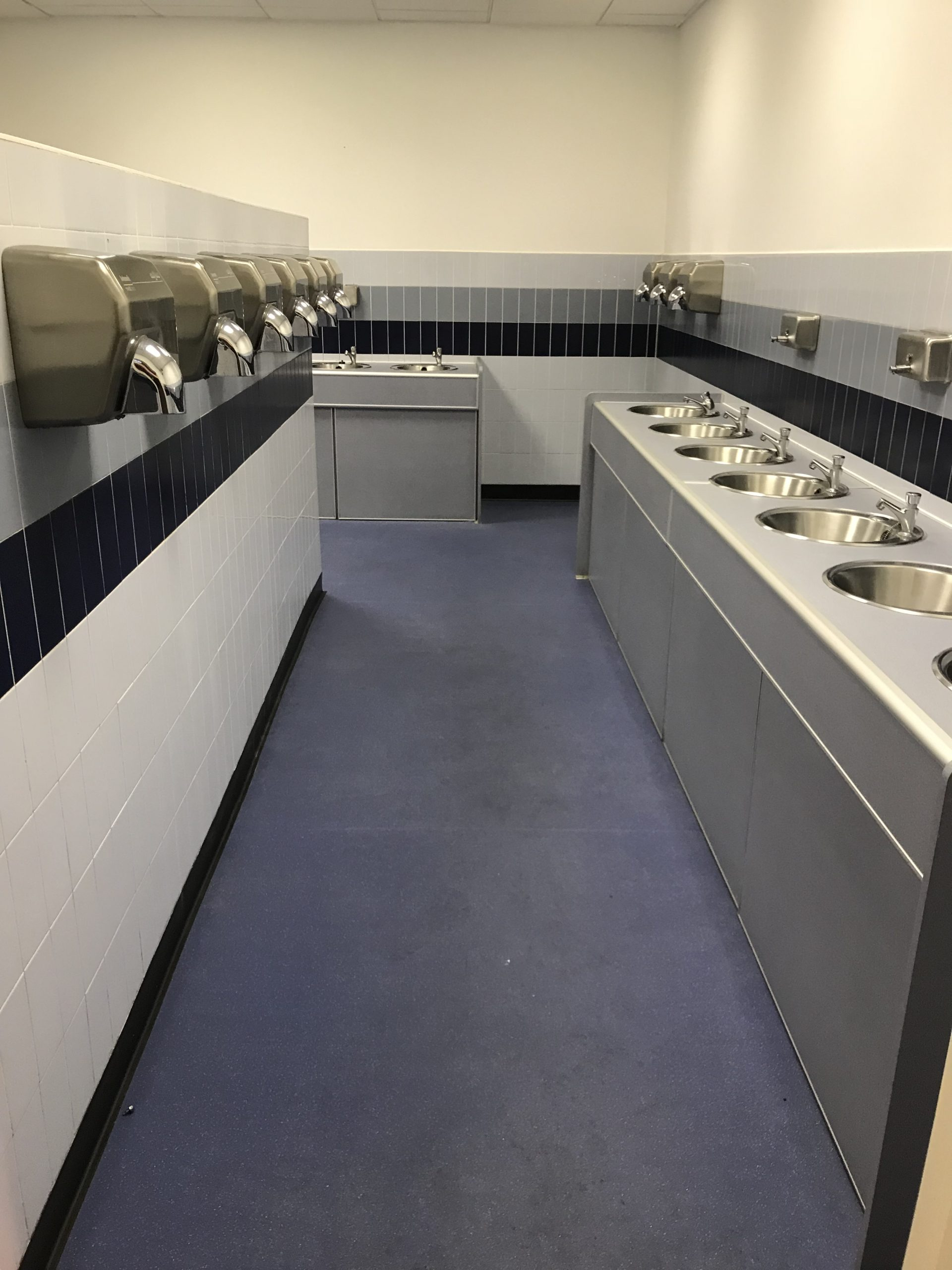 factory toilet cleaning